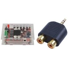 Case-Kit Amplifier-Board Rca-Adaptor Bluetooth-4.0 with Tda7492p 50W Digital Digital