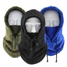 Motorcycle-Mask Full-Face-Mask Scarf Balaclava Hood Neck-Warmer Winter Windproof Sun