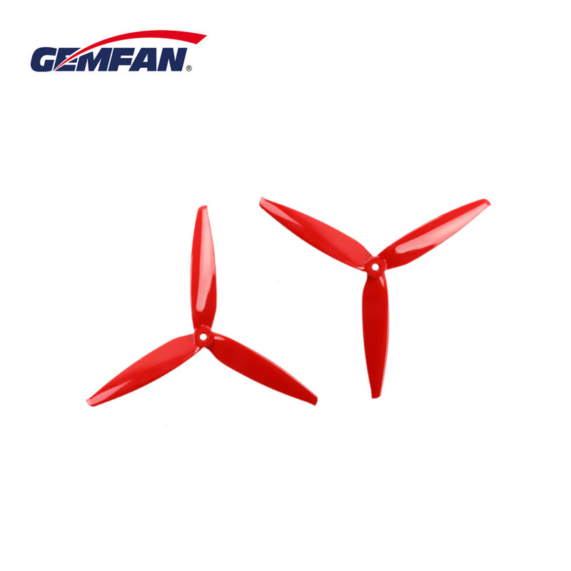 2Pairs 4PCS Gemfan Flash 7040 7 Inch 3-Blade Propeller For RC Drone FPV Racing Freestyle Long Range 6S 2206 1500KV Motor