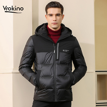 2020 New Winter Jacket Stylish High Quality Men's Hooded Down