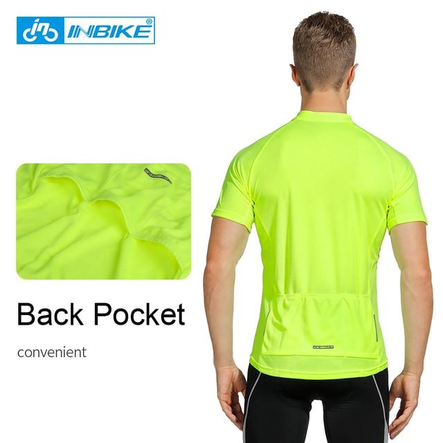 Inbike ανδρική αθλητική μπλούζα ποδηλασίας καλοκαιρινή εφαρμοστή