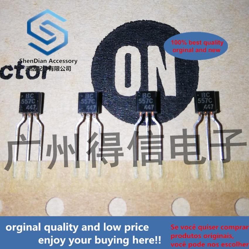 30pcs 100% Orginal New BC557C BC557 Amplifier Transistors TO-92 Real Photo