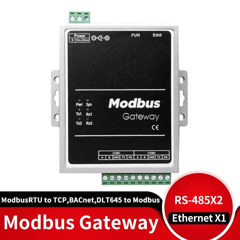 Шлюз Modbus RTU to Modbus TCP, BACnet, DLT645 to Modbus