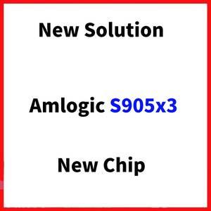 Image 2 - Luz rgb amlogic s905x3 smart tv caixa android 9.0 4gb ram 64gb rom a95x f3 max suporte 8k flex media player ota duplo wifi 2/16g