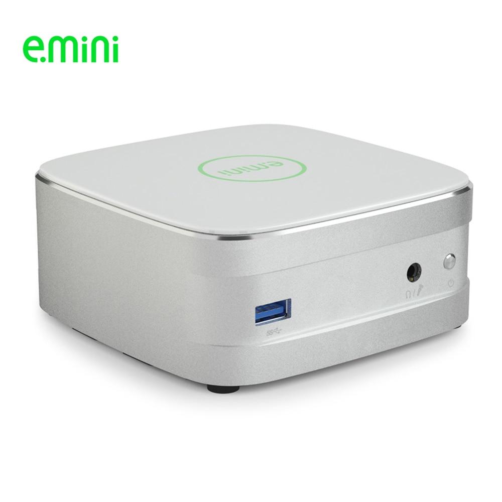 E.mini Intel Core I5 7200U NUC V6 7th Gen Processor Mini Pc 12V 5A Low Consumption