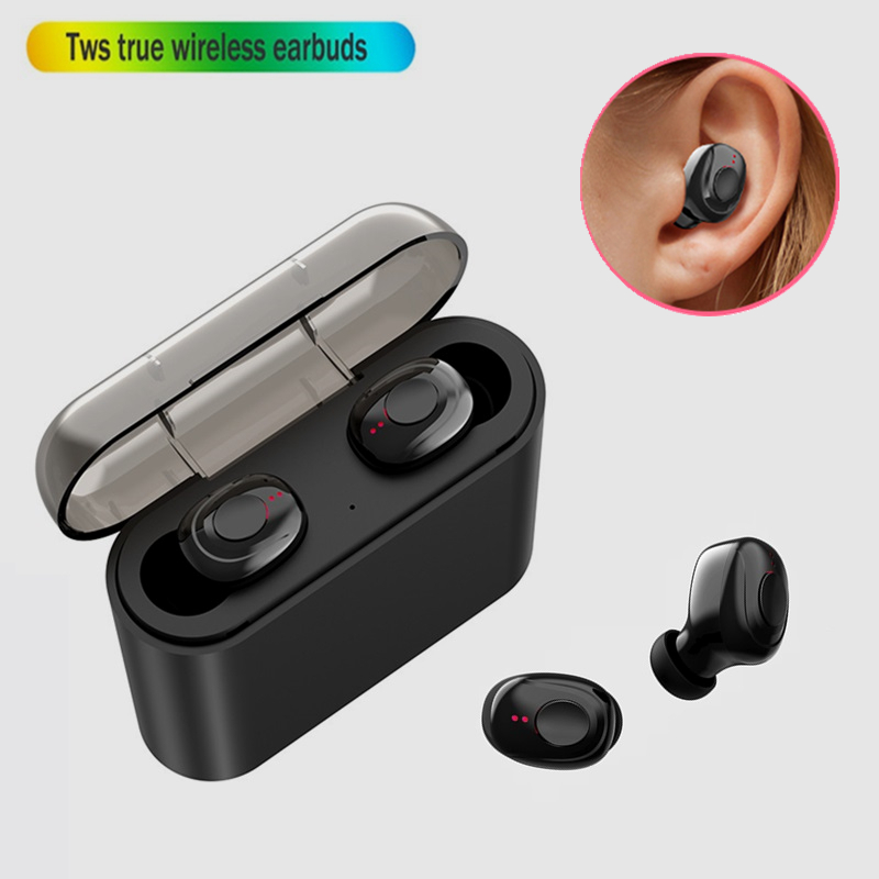 For Iphone 7 In Ear Stereo Earphone With Microphone Wireless Bluetooth Earphones Headphone For Iphone 8 Plus X Xr Xs Max 10 Bluetooth Earphones Headphones Aliexpress