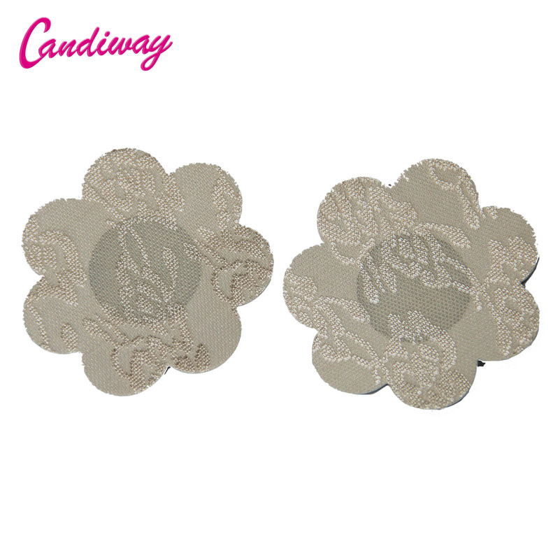 Candiway Lace Self Adhesive Disposable Flower Heart Nipple Stickers Invisible Bra Covers Breast Pasties Sex Toys For Women|Adult Games| - AliExpress