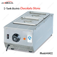 EH22/EH23/EH24 2/3/4 tanks electric chocolate stove stainless steel chocolate melting pot Ice Cream Stove Milk Warmer Machine цена и фото