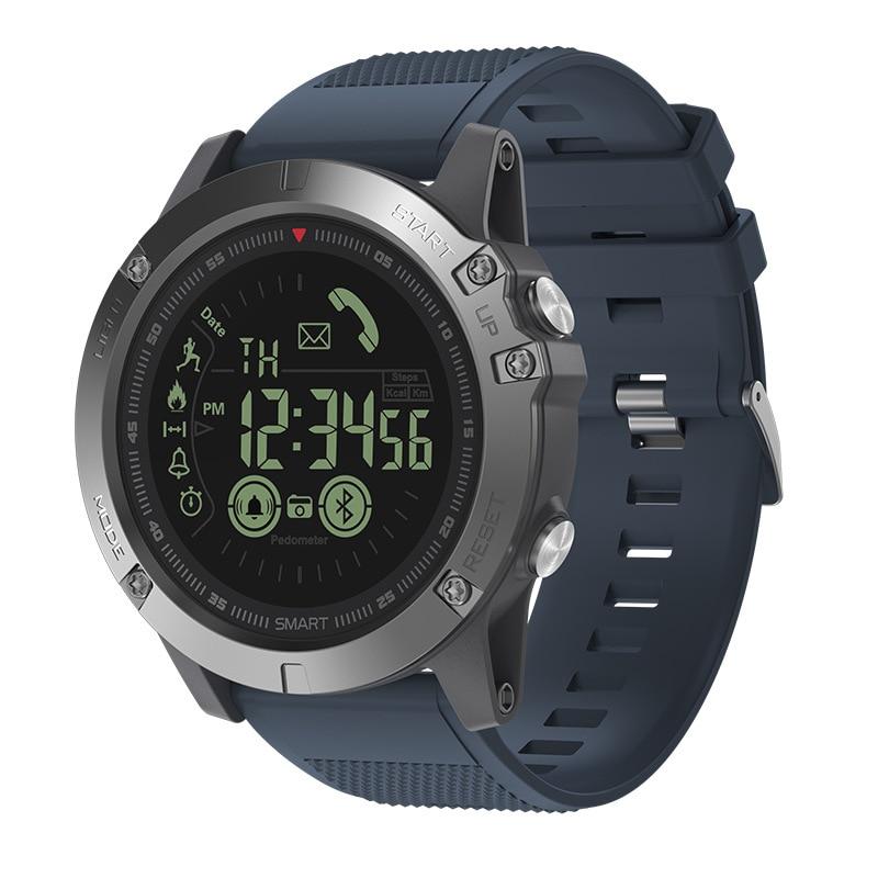 MNWT Big Dial Smart Watch VIBE 3 Pedometer Heart Rate Blood Pressure Monitor Fitness tracker Sport Watch Waterproof Smartwatch 1