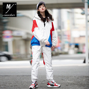 Image 2 - New winter ski suits women Waterproof and warm outdoor snowboard jacket man ski wear vintage style