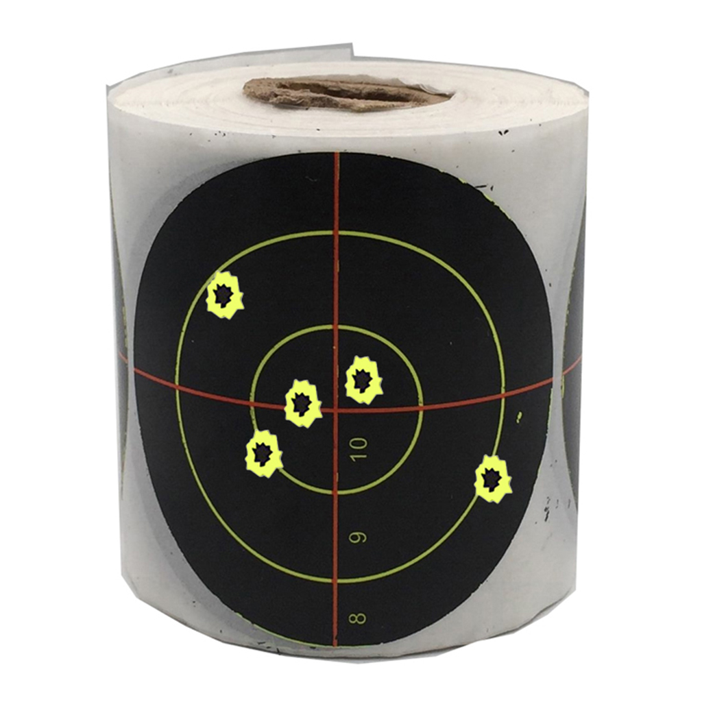 Pack Of 250 Splatter Target Archery  Paper Target Stickers For Training