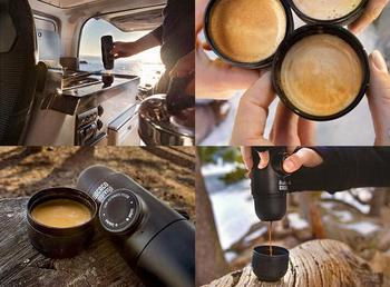 Mini Coffee Machine Portable Espresso For Home Office Travel