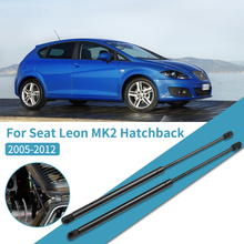 2pcs Car Rear trunk Gas Spring Lift Supports Struts Boot Hydraulic Rod For Seat Leon MK2 2005 2012 Car Accessories