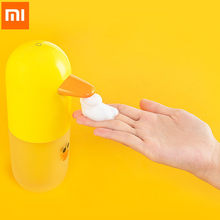 Xiaomi Mijia Automatic Induction Foaming Hand Washer Automatic Soap 0.25s Infrared Sensor For Smart Homes Hand Washing Machine(China)