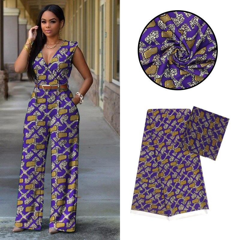 LANLIUZHI tissus africains impression tissu en mousseline de soie pour les femmes offre spéciale mousseline de soie nigériane et vraie soie 4 + 2yards ML9X01-ML9X11