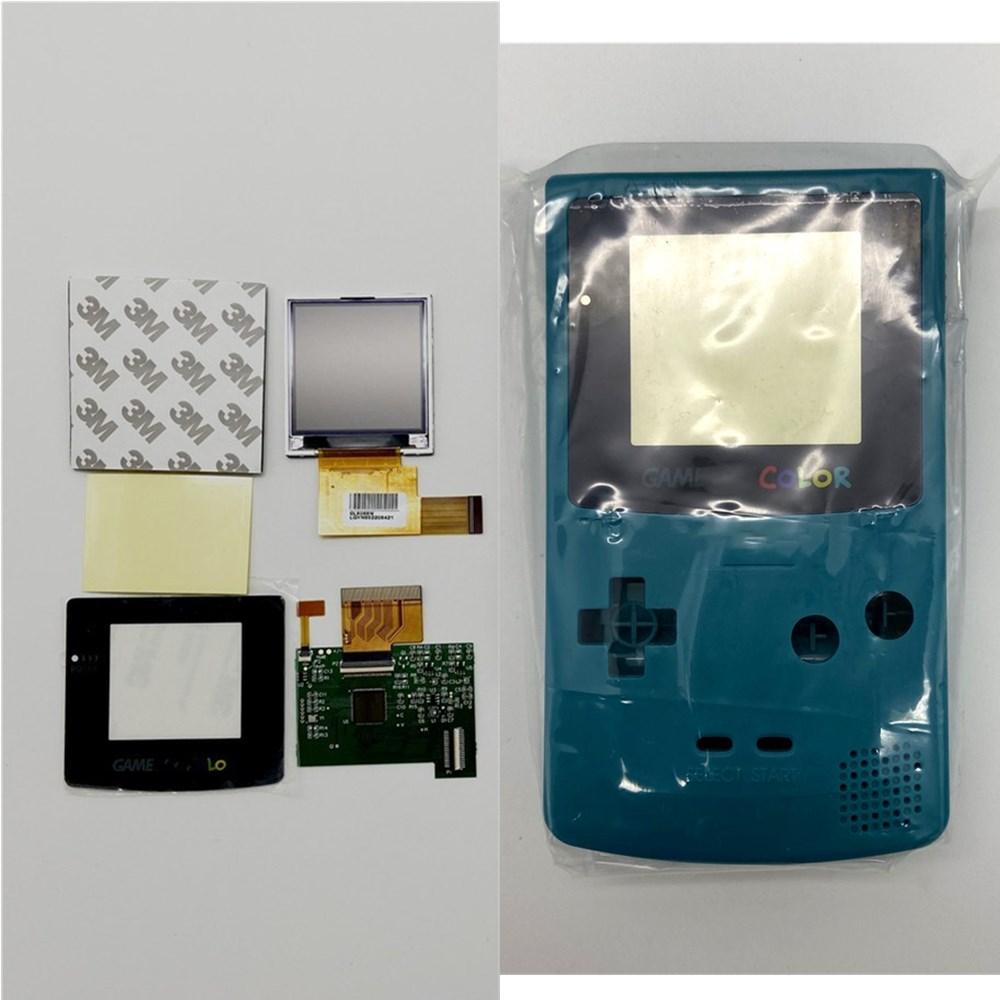 GBC LCD de alto brillo y nueva carcasa para Gameboy Color, pantalla LCD GBC - 6