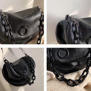 Image 4 - DIINOVIVO torebki Retro torebki damskie markowa skóra ekologiczna szeroki pasek torby na ramię Crossbody dla nastoletnie dziewczyny Tote Saddle WHDV1407