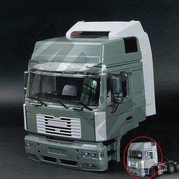 1/14 skala zdalnego sterowania JX MAN F2000 ciężarówka przyczepa metalowa przednia kabina