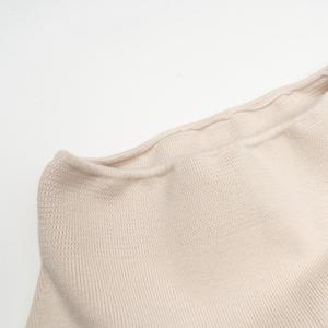 Image 5 - ニットミディスカート分割女性ハイウエストロングマキシ秋冬