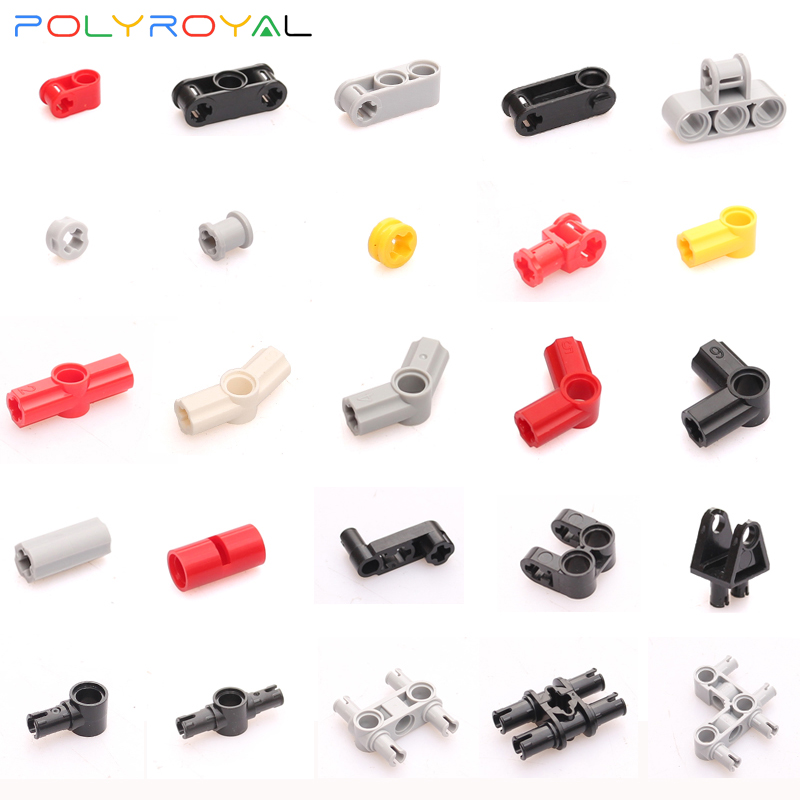 Building Blocks Accessories DIY Technic Parts Moc Connector 10 PCS Compatible Assembles Particles Educational Toys For Children