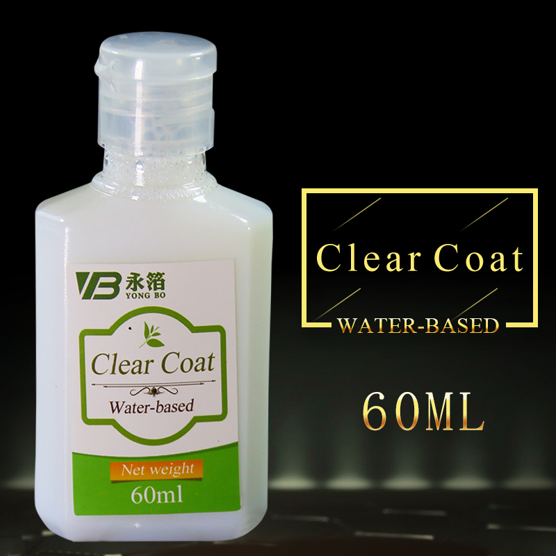 60ml Water-based Clear Coat  Clear Varnish Gold Leaf Protection Dilute The Pearl Powder And Glitter Powder Free Shipping