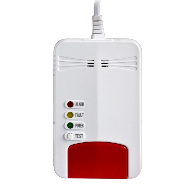Combustible Gas Alarm Natural Wifi Gas Leak Standalone Detector Sensor For Tuya Smart Life App Control EU Plug