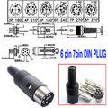 DHL/EMS 250 шт 3 Pin DIN штекер 8 Pin DIN разъем кабеля-A8