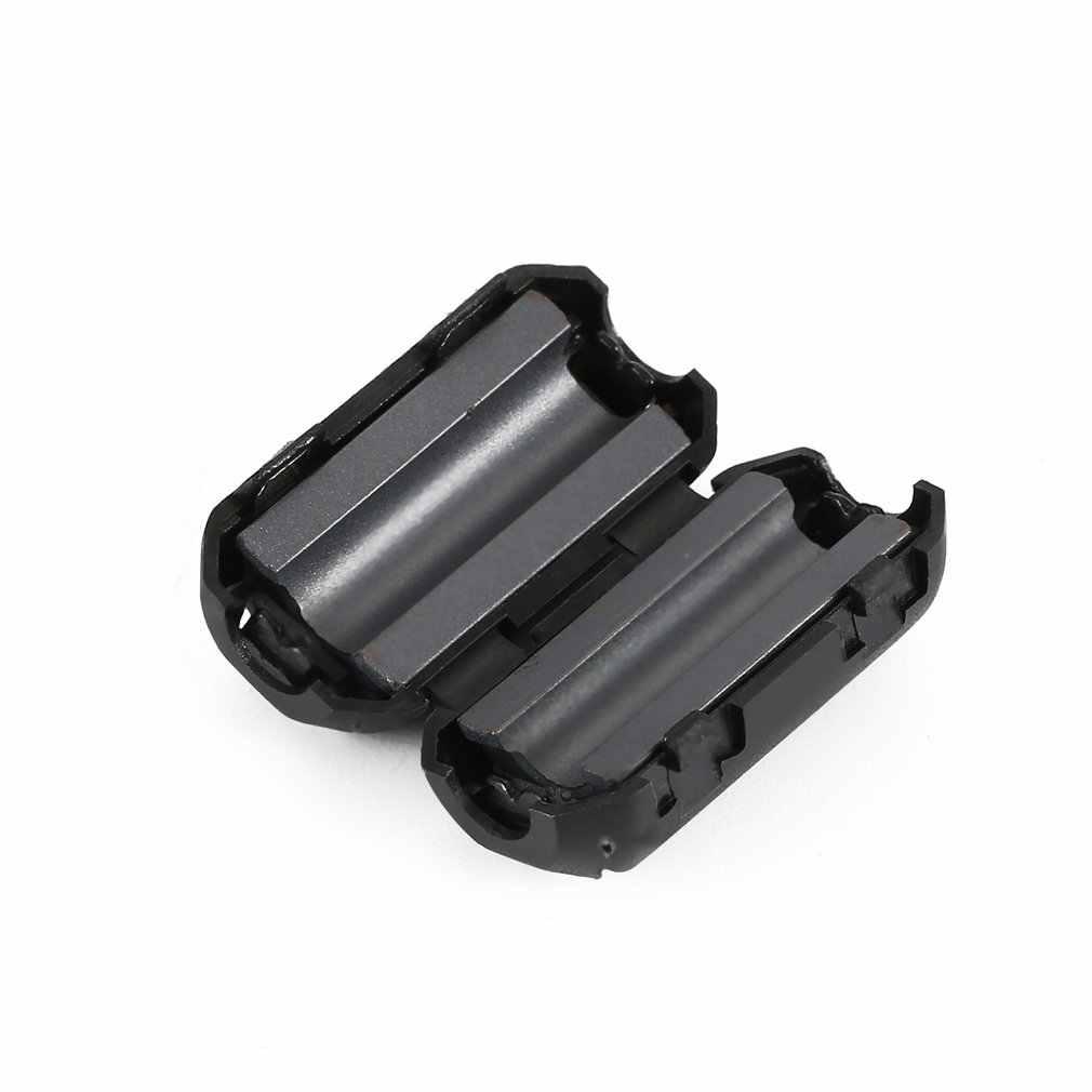 Reducción del silenciador de ruido EMI RFI Clip Choke ferrita 5mm Core filtro para cables