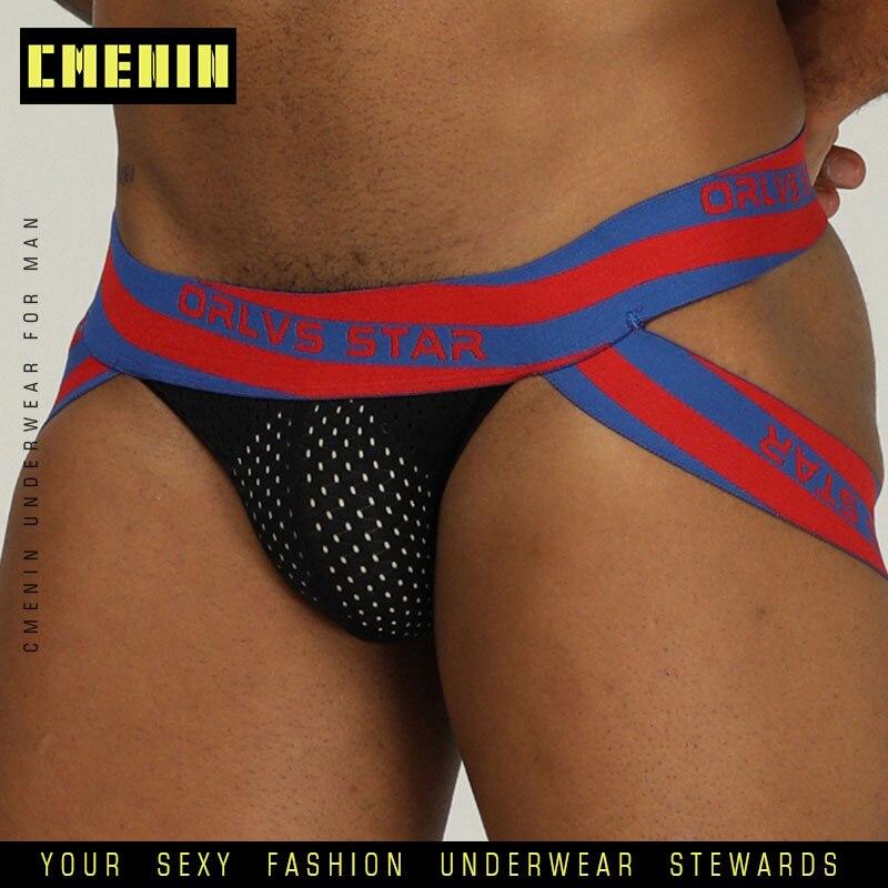 2019 New Hot Sexy Men Underwear Briefs Gay Penis Pouch Wonderjock Mens Bikini Underwear Man Jockstrap Tanga Thongs Men Jockstrap