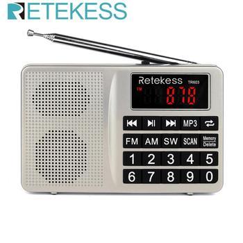 Радиоприемник RETEKESS TR603 AM/FM/SW MP3 TF-Card 1