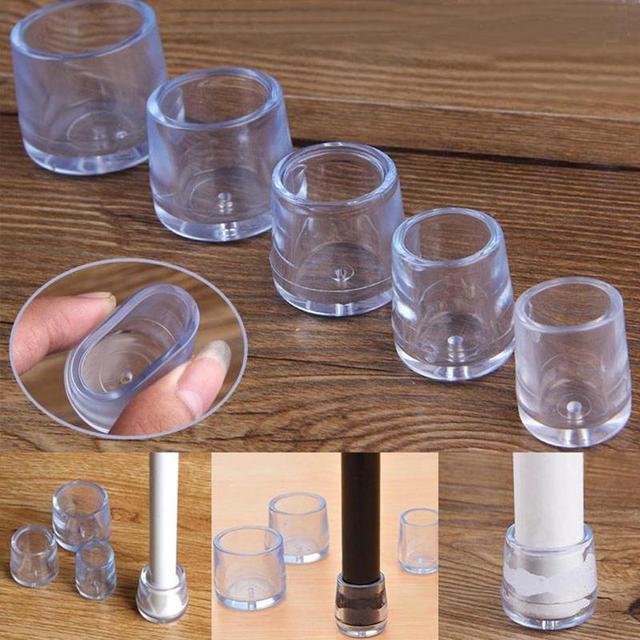 Купить силиконовые чехлы для ножек стула прозрачные квадратные чехлы