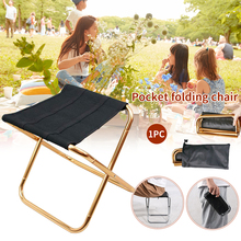 Chair-Stool Camping Seat Folding Travel Picnic Hiking Outdoor Portable Beach Mini Lightweight
