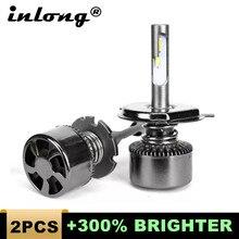 цена на 2Pcs H4 LED Bulbs H7 Led H1 H11 H8 9006 HB4 9005 HB3 Auto Led Car Headlight 14000LM High Low Beam Bulb Automobile Lamp 6000K 12V