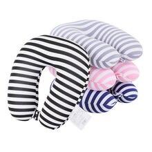U образная подушка для путешествий наночастицы шеи отдых головы