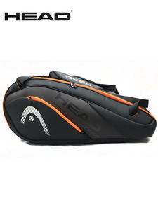 HEAD Badminton-Bag Tennis-Backpack Women Tenis Sports-Bag Large-Capacity PU