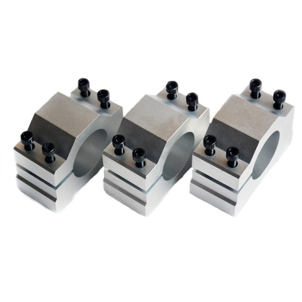 1pc Engraving Machine Spindle Motor From 20mm To 90mm Bracket Seat Cnc Carving Clamp Holder Aluminum