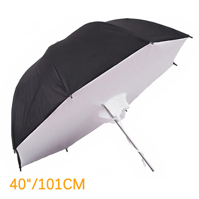 "40"" 101cm Studio Umbrella Softbox Reflector Brolly Photography Studio Umbrella Photo Studio Accessories"