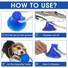 Suction Cup Dog Push Toy with Ball Pet Tooth Cleaning Chewing Rubber 3