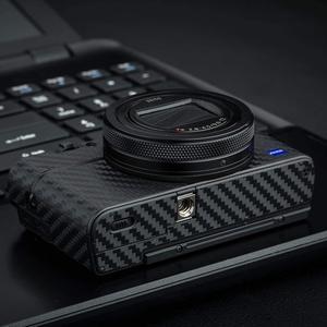 Image 4 - Anti Scratch Camera Body Skin Carbon Fiber Film Sticker Kit For Sony RX100 Mark VII VI RX100M6 RX100M7 For Cameras Decoration