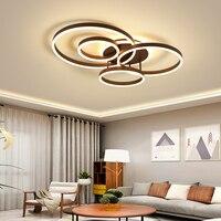 New Modern Led Ceiling Lights For Living Study Room Bed room light lamp plafon led avize AC85 265V Indoor Ceiling Lamp Fixtures