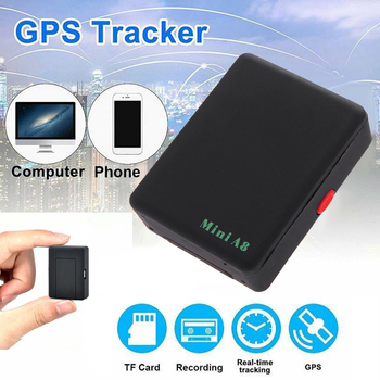 Mini Global A8 GF07 GPS Tracker Waterproof Auto Tracker Real-Time GSM/ GPRS/ GPS Tracking Tracking Tool For Children Pet Car image