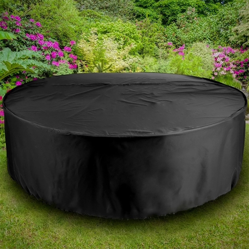 Outdoor Garden Furniture Rain Cover Waterproof Oxford Sofa Protection Garden Courtyard Rain and Snowproof Dustproof Black Set 23|All-Purpose Covers| |  - title=