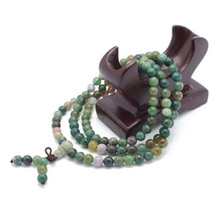 Fashion Sandalwood Buddhist Buddha Meditation Prayer Bead Mala Bracelet Necklace
