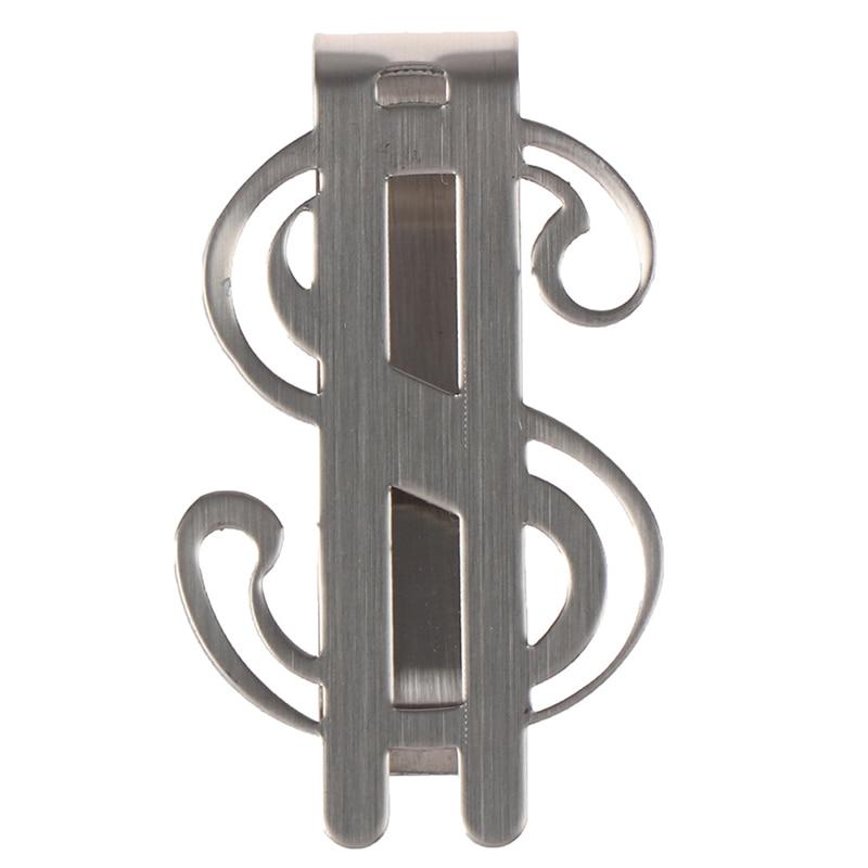 1PCS Stainless Steel Slim Pocket Money Clip Wallet For Men Women High Quality Credit ID Card Cash Holder