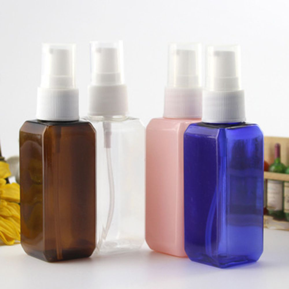 1/5PC Travel Transparent Plastic Perfume Atomizer Small MIni Empty Spray Refillable Bottle Toner Lotion Spary Bottle