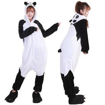 Cosplay Di Natale Autunno e inverno nuovo flanella Kung Fu Panda del fumetto di un pezzo pigiama uomini e donne animale domestico servizio