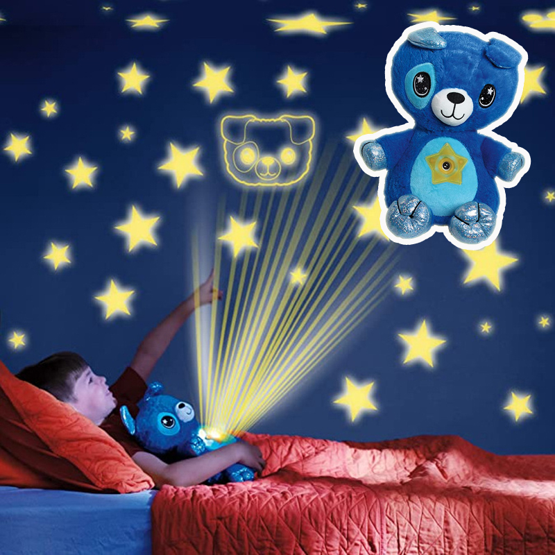 Stuffed-Animal-With-Light-Projector-In-Belly-Comforting-Toy-Plush-Toy-Night-Light-Cuddly-Puppy-Christmas