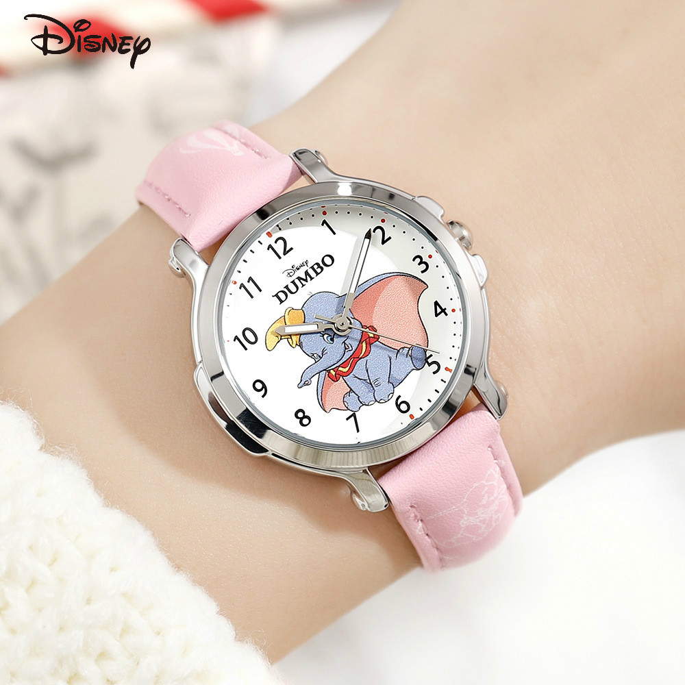 Disney дети% 27 часы маленький летающий слон сериал часы школьники мультфильм дети% 27 кварц часы