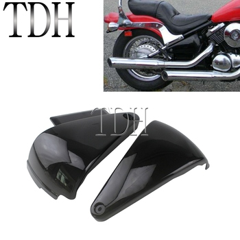 Custom Classic Battery Cover Guard Side Fairing Protector for Kawasaki Vulcan 800 400 VN800 VN400 1995-2006 Side Pad Protection