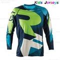 Рубашка детская быстросохнущая для мотокросса, майка для мальчиков, майка для горного велосипеда, MX Одежда для езды на мотоцикле, 2020